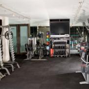 Тренажерный зал в частном доме площадью 38,1 м.кв.