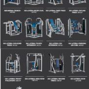 Двух блочные тренажеры Hammer Strength MTS Б У