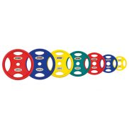 Олимпийские полиуретановые диски ф 50 мм. Stein TPU Color