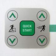 Кнопка Quck Start управления скоростью