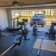 Оборудование спортзала в гараже