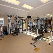 Тренажерный зал в частном доме площадь 43 м.кв.